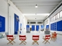 Dekorativer Bereich- Ausstellungsräume